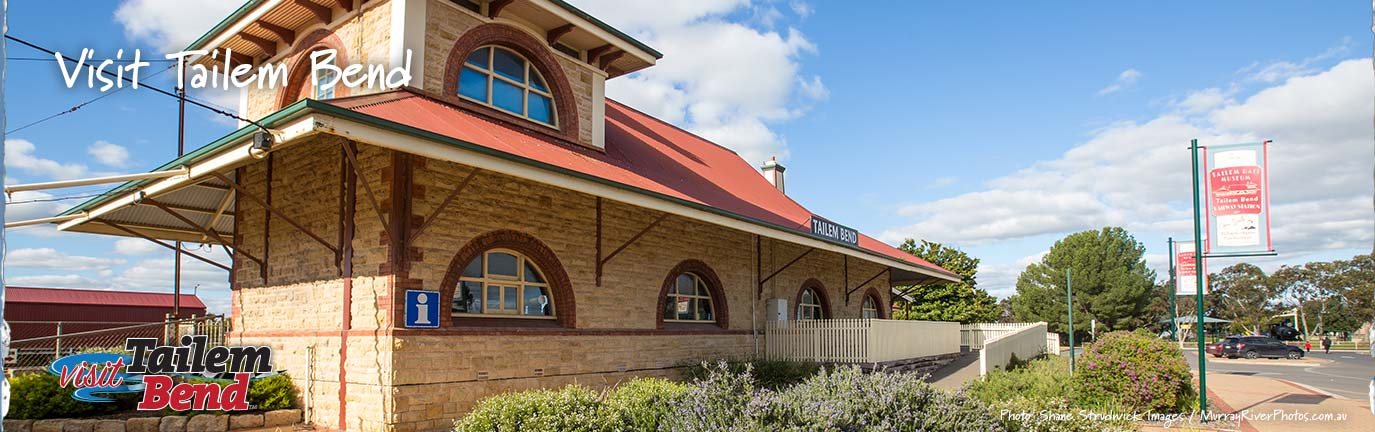 Welcome to Visit Tailem Bend banner